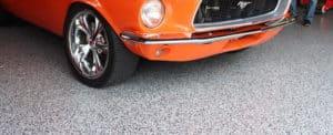 Dallas Epoxy Garage Floor Mustang