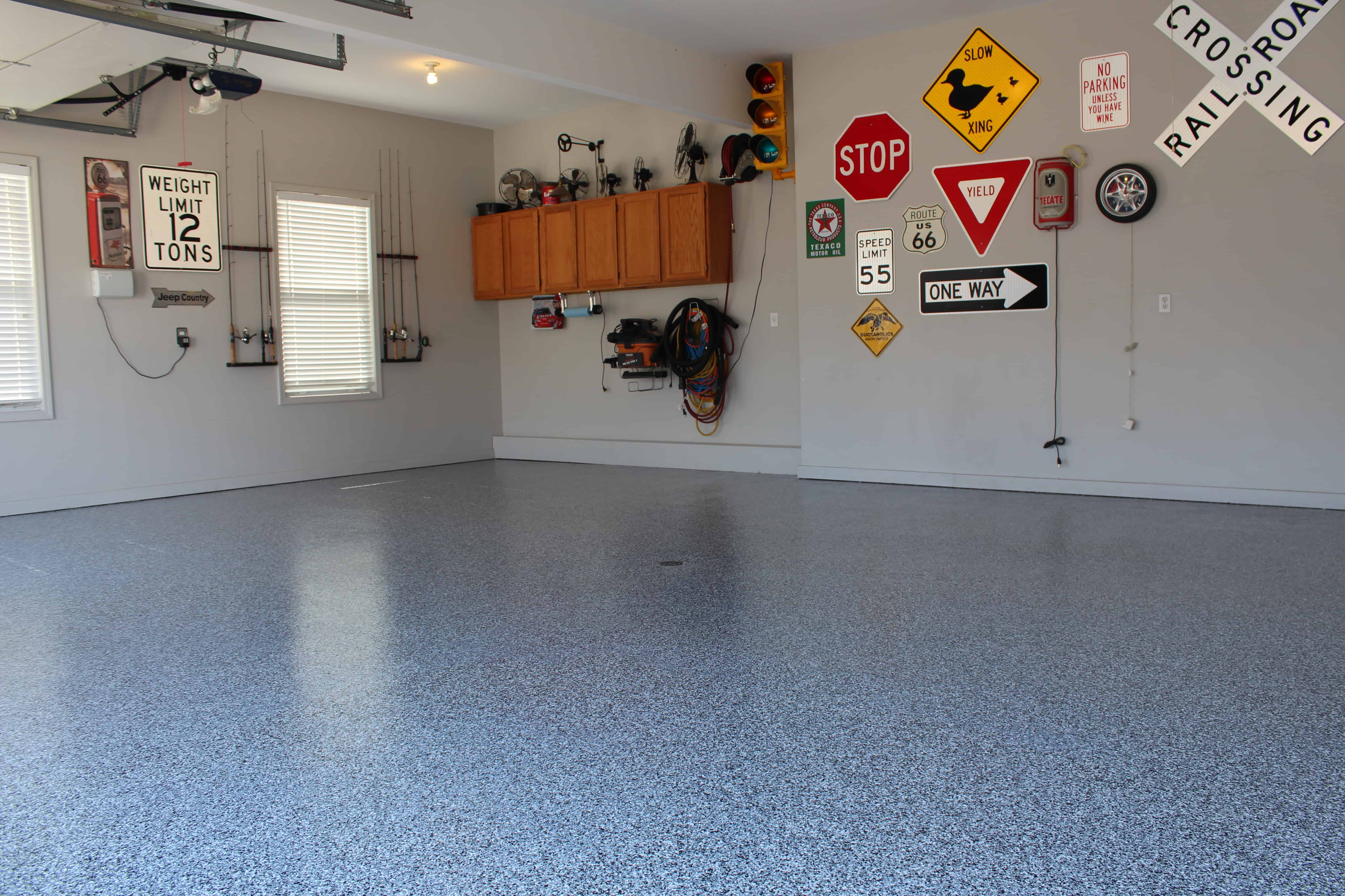 to stained tech floor polished post single benefits floors coatings garage cost epoxy the concrete using best of