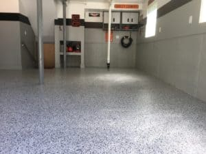 epoxy garage floor installations