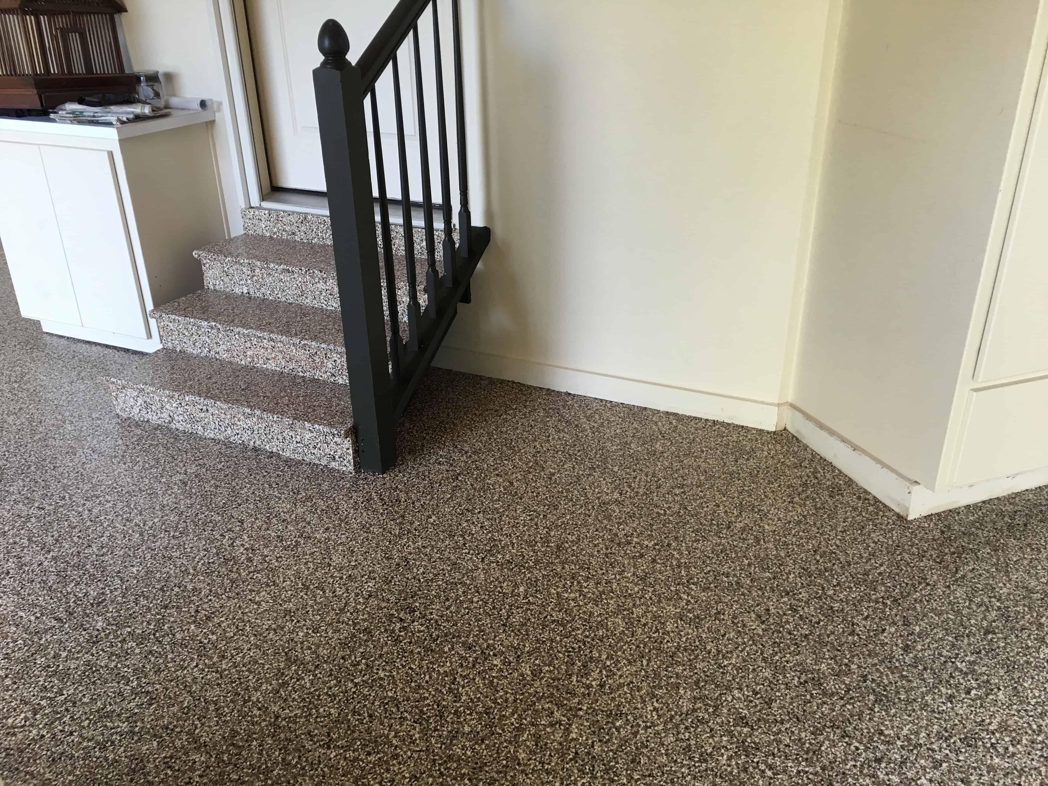 professional grade garage floor epoxy