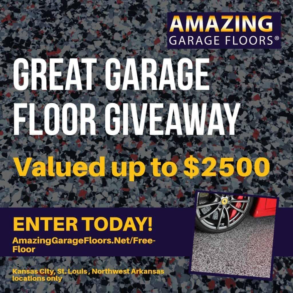 garage floor giveaway