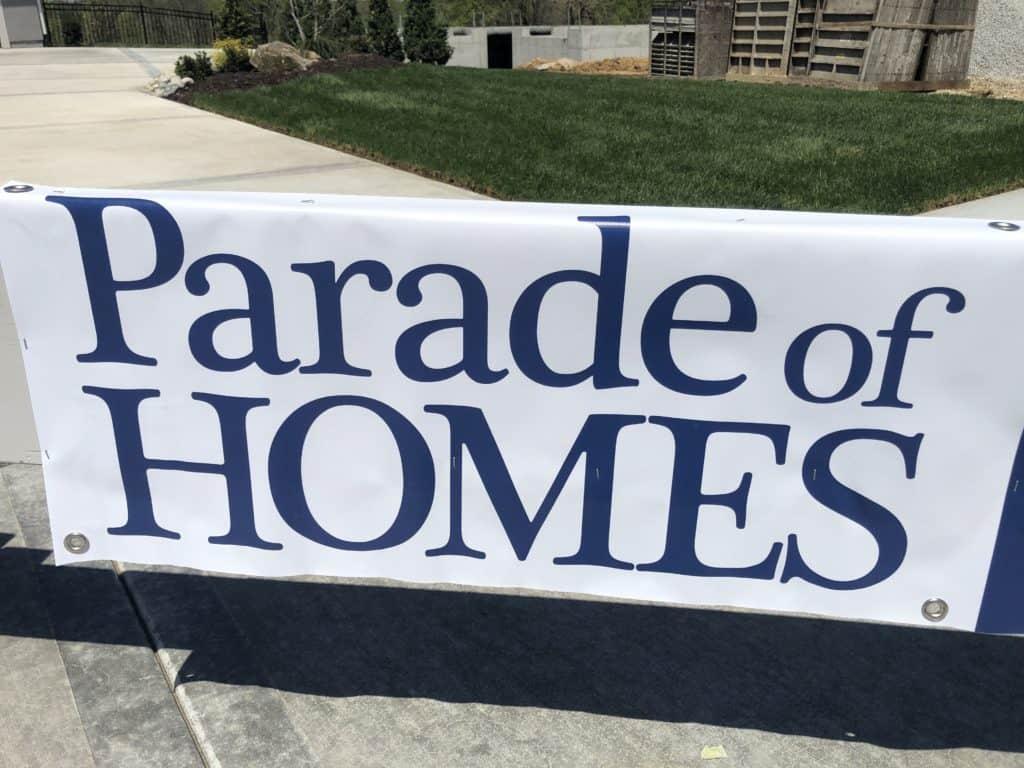 Amazing Garage Floor Parade of Homes Kansas City 1
