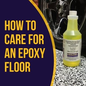 how to care for an epoxy floor